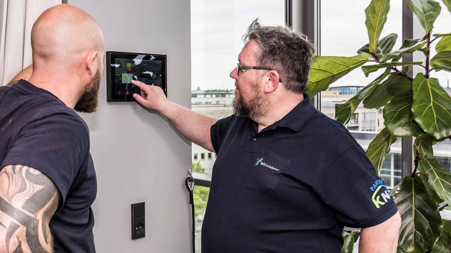 Toft installation tester el-styring